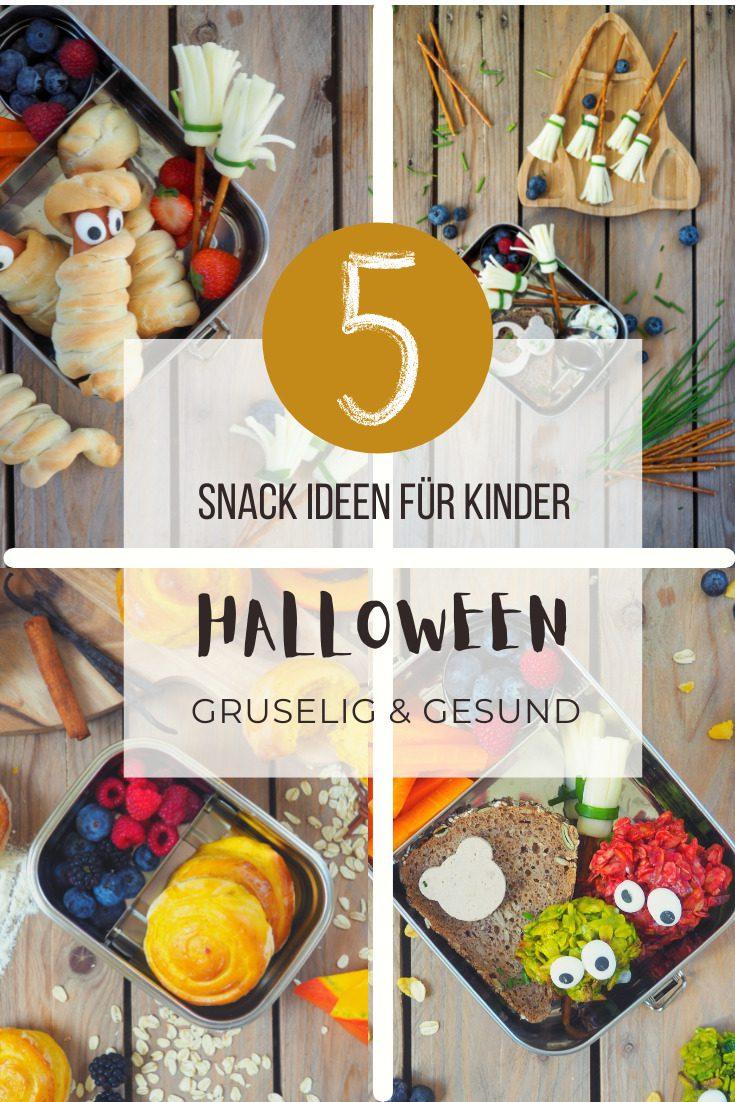 Brotbox Ideen zu Halloween