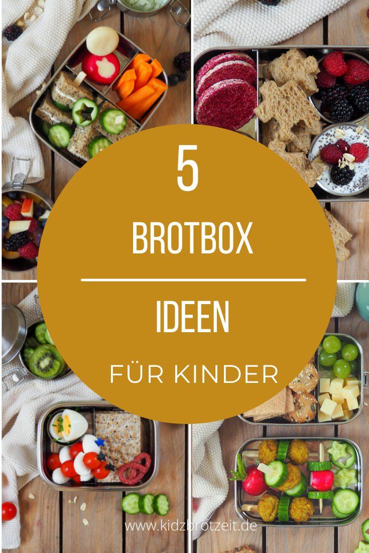Ideen für die Brotbox im Kindergarten