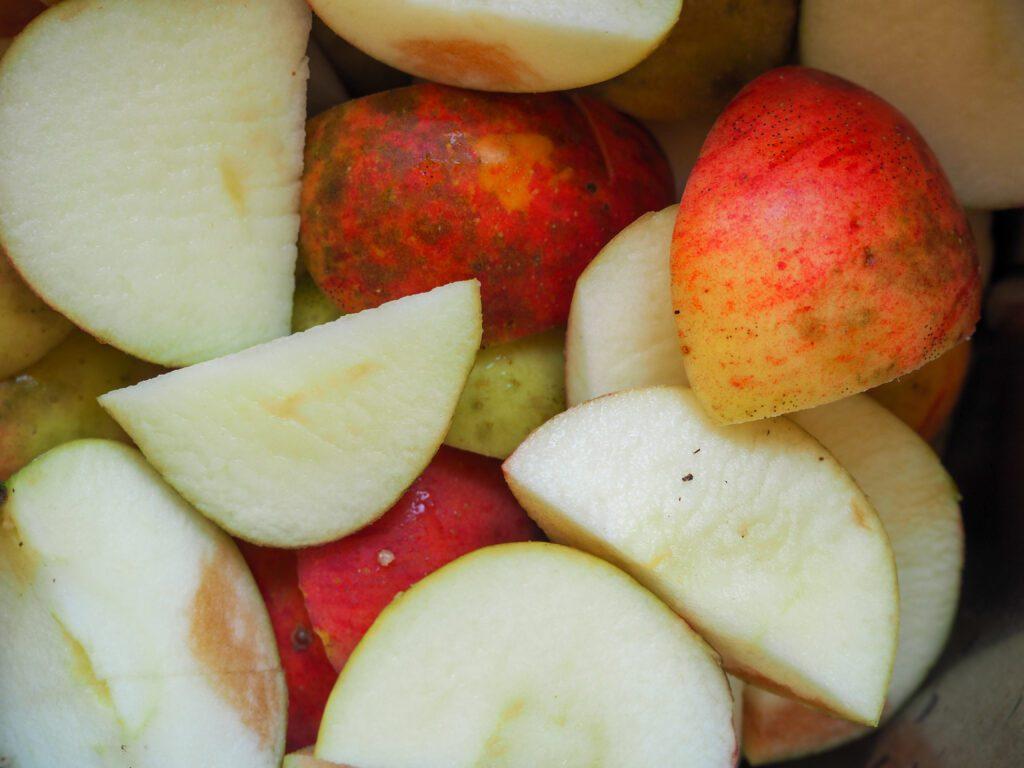Apfelmus ohne Zucker selber
