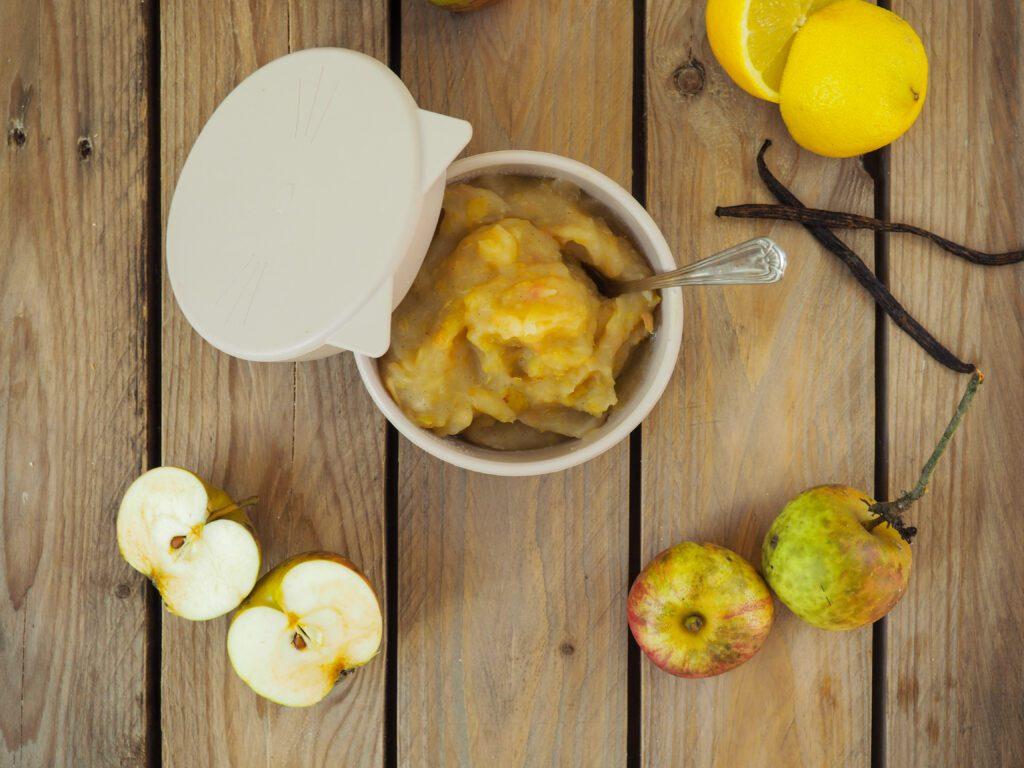 Apfelmus ohne Zucker selber machen