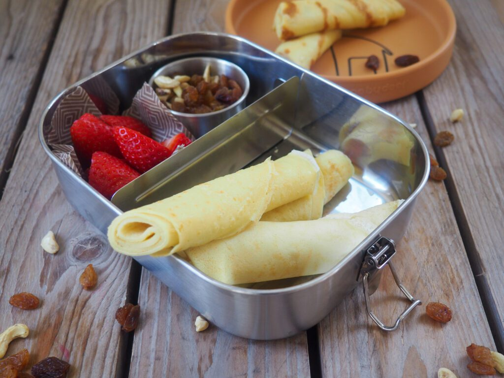 Palatschinken Brotboxidee