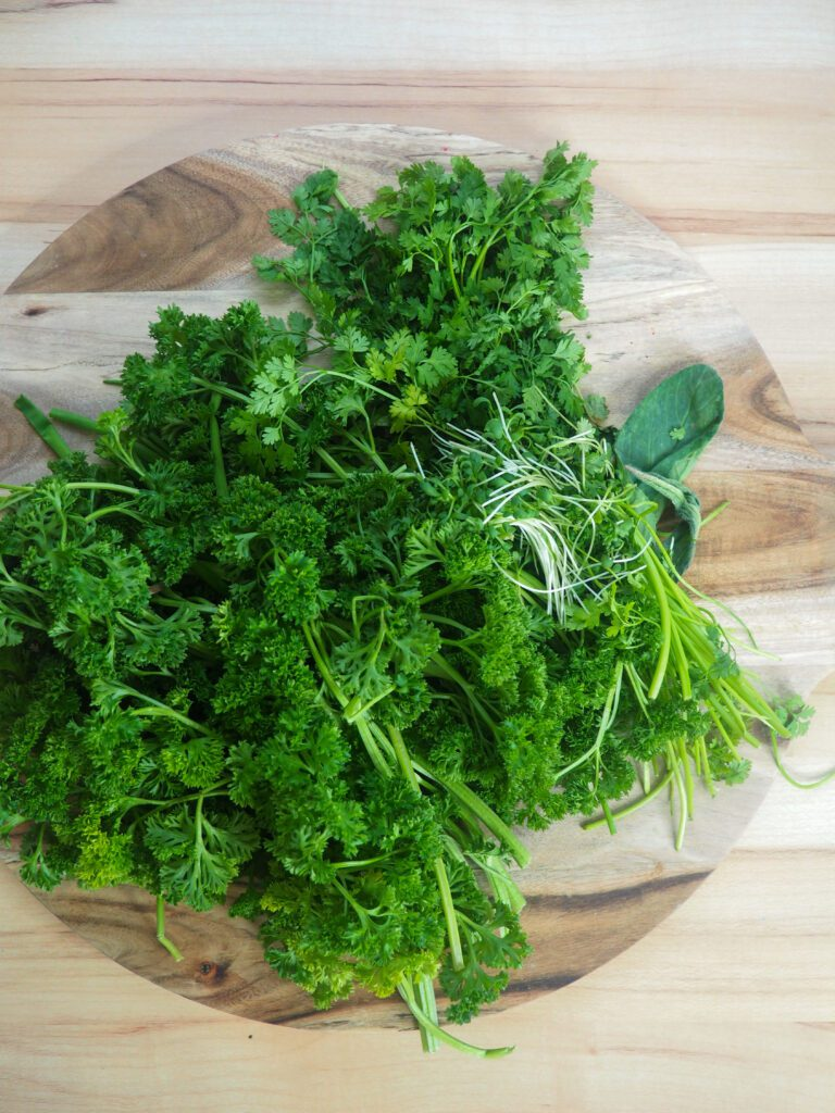 grünse soße dip als brotboxidee
