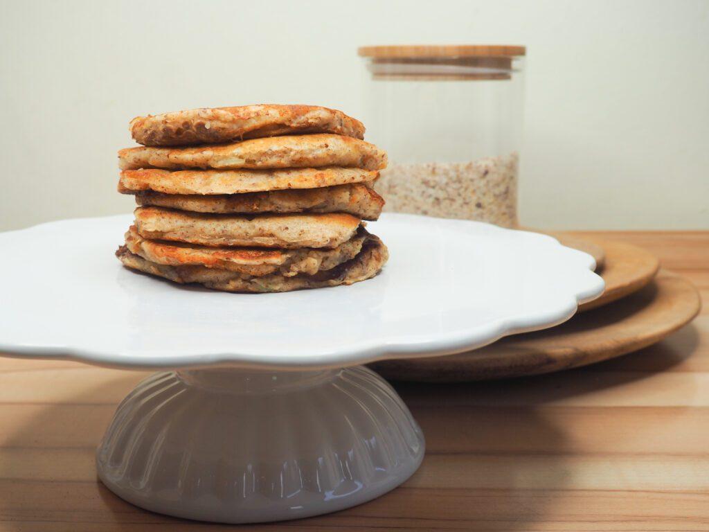 Apfel Nuss Pancakes