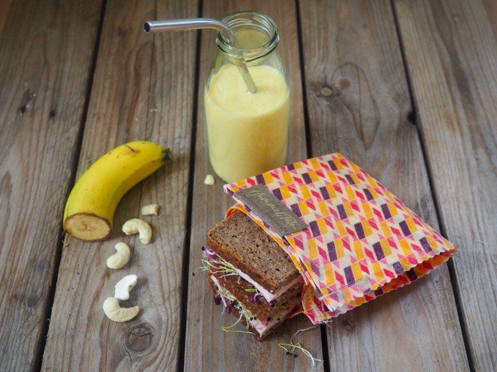 Brotboxidee Bananen-Smoothie