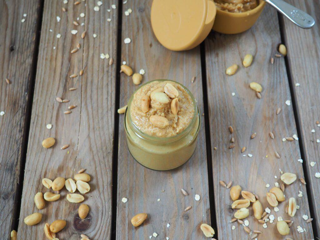 Erdnussbutter ohne Zucker selber machen