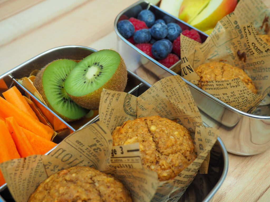 Pastinaken-Karotte-Apfel Muffins