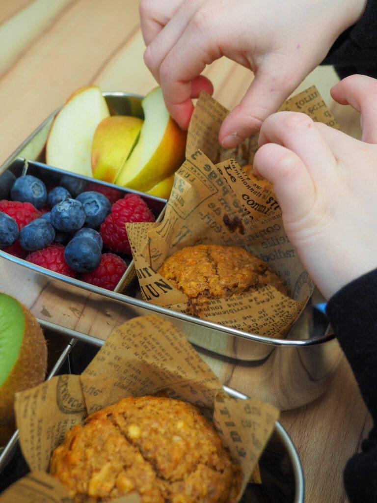Pastinake Apfel Muffin